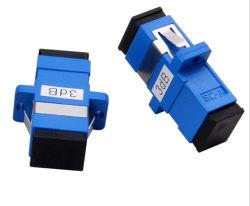 Tipo flangiato fisso monomodale personalizzato femmina dell'adattatore di LC/Sc/FC/St/Lsh all'attenuatore ottico femminile della fibra 1~25dB