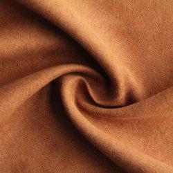 Tejido suave de un lado Suede 100%Poliéster para la prenda de vestir/Zapatos sofá/