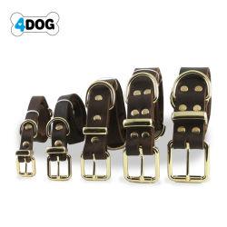Les colliers de Soft Touch - Luxe Collier pour chien en cuir véritable