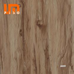 Cork Underlayment 5mm Espesor SPC Mosaico Pisos de Vinilo con Sistema Unilin Clic