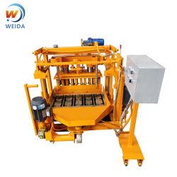 البيض وضع آلة صنع كتل Hollow Qt40-3A Hollow آلة كتلة وخالط الخرسانة