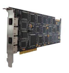 ISDN Pri / E1 / 30 قناة تسجيل الهاتف PCI البطاقة - قاعدة الكمبيوتر