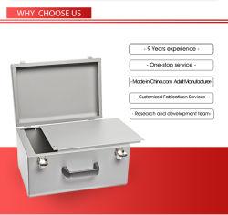 Edelstahlabdeckung für Metallgehäuse-Rack