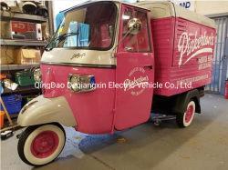 Camion elettrico mobile dell'alimento dei tricicli di prodotti della rotella all'ingrosso dell'annuncio pubblicitario 3
