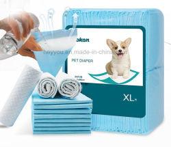 La formation Pet alèse jetable Absorption élevée/chien chiot Doggy Plaquettes d'urine