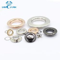 Personalizar o olhal de metal de Cortina de tamanho Personalizar Cores Olhal de latão para equipamento