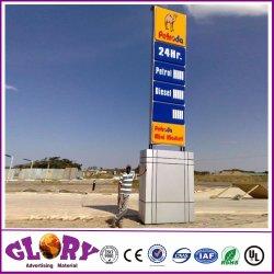 Benzin-Tankstelle-Aufbau von Kraftstoff-Station-GerätSignages
