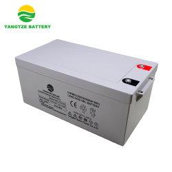10 jaar AGM Deep Cycle Battery van Life Span 12V 250ah voor Zonnepaneel
