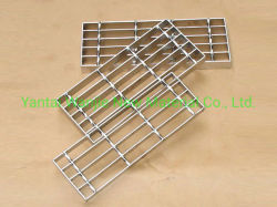 Finition galvanisé/barre d'acier brut pour l'étage grillage de passerelle