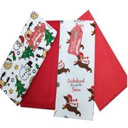 Toalha de algodão para Conjunto de presentes de Natal