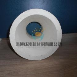 Tubo di ceramica stridente fine di ceramica Ivory dell'allumina del tubo Al2O3 dell'isolante