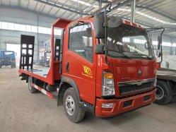 Camion della base piana di Sinotruk HOWO 3ton per il carrello elevatore dell'escavatore del bulldozer
