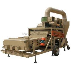 Maquinaria agrícola de trigo Semillas de sésamo Limpieza de la máquina cosechadora Moblile limpiador de semilla