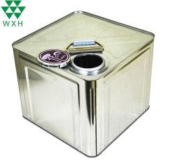 Farbiger Metallöl-Remover-Behälter des Lack-Zinn-Behälter-10L