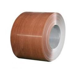 PVDF Polyester couleur bois bobine en aluminium avec revêtement