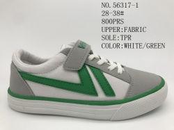 Nouveau stock d'Enfants de chaussures en toile avec quatre couleurs