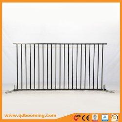 1.2*2.4m Aluminiumpuder-überzogener flache Oberseite-Pool-Zaun