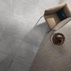 tegel van de Muur van de Bevloering van het Porselein van het Cement van 60X60cm (24X24 '') de Grijze Ceramische