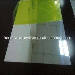 Pulido espejo recubiertos de lámina de aluminio para prensa de transferencia de calor
