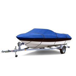 防水紫外線抵抗力がある軽量ポリエステルオックスフォード600dのボートカバー