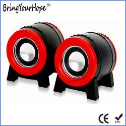 Diseño del tambor de guerra 2.0 Mini Altavoz USB para PC (XH-PS-104)