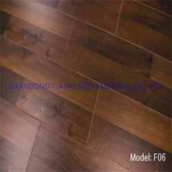 China de 8mm Piso Laminado de madera Material HDF