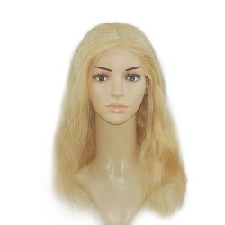Kj01 Hand-Made fait sur mesure pleine cheveux humains Toupee naturelles