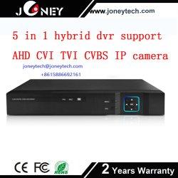 Горячая Продажа 5 в 1 гибридный цифровой видеорегистратор поддержки Ahd Cvi Tvi Cvbs IP-вход камеры