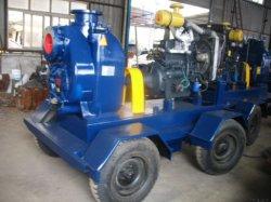농업 관개 판매를 위한 디젤 엔진 수도 펌프 Pq 시리즈 강철 플레이트 용접 모래 펌프
