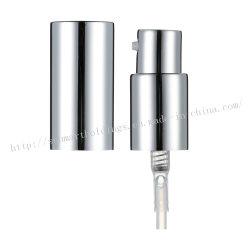 18/415 Perfume Plata brillo de aluminio con tapas de aluminio