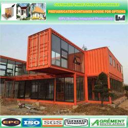 조립식 선적 컨테이너 20ft 홈에서 조립식 주택 및 선적 태양광 동력 컨테이너 홈