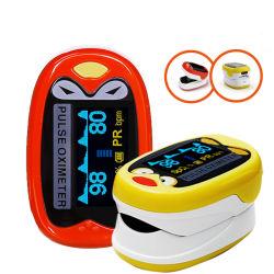 Ребенка Pediatri портативный Пульсоксиметр палец кислородного насыщения SpO2 и частоты пульса монитора аккумулятор USB