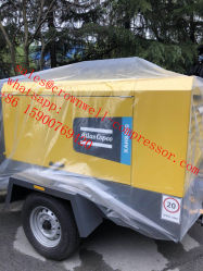 Atlas Copco Xahs diesel de 350 Tornillo portátil Mobile utiliza el compresor de aire