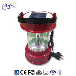 Nachladbare LED kampierende Solarlaterne der kleinen 18650 Li Ionenbatterie-