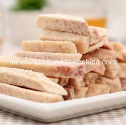 Aperitivos saludables para niños Vf palos Taro frito Taros vacío