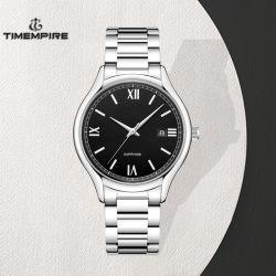 La promotion de la mode en acier inoxydable montre-bracelet Quartz d'hommes (72883)