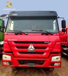최신 판매 좋은 품질 371HP 375HP 6*4 10 바퀴는 아프리카 시장을%s HOWO 덤프 트럭 팁 주는 사람 트럭을 사용했다