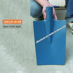 M-08 스퀘어 플라스틱 코팅 정원 도구 셔블 헤드 스페이드