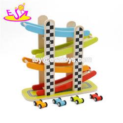 Nieuwe heetste slot Racing Houten Miniature snelheidsovertredende Auto voor kinderen W04e059