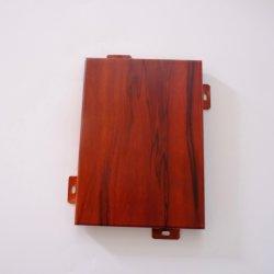 Materiali da costruzione di legno dei comitati di parete del grano dell'Asia 3D/comitati dell'alluminio per la decorazione della parete