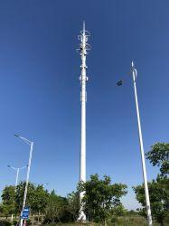 Torretta di comunicazione unipolare autosufficiente della torretta d'acciaio di telecomunicazione del tubo