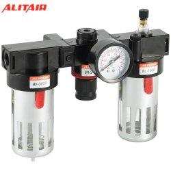 "3/8 "" Airtac pneumatische Luft-Quellbehandlung filtert Bc-3000 Druckregelventil-Fettspritze"