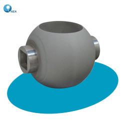 Kundenspezifisches Hvof Schweißungs-Testblatt-Hartmetall-beschichtetes Reiben und Einhüllung der Stahlventil-Kugel für Metallsitzkugelventile
