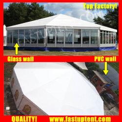 La fábrica sólida pared lateral Multi tienda de campaña para la Conferencia de 12m de diámetro de 150 personas plazas Guest