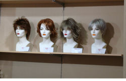 Мода кружевом короткое замыкание синтетические волосы Wig