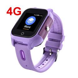 Imperméable de petits 4G d'Enfants SOS Smartwatch Localisateur de téléphone Appareil de suivi GPS Smart Kids Tracker Watch