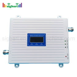 Горячая продажа тройных диапазона сигнала Jio UMTS Lte 2g 3G 4G 850 1800 2100 Мгц для мобильных ПК усилителем сигнала