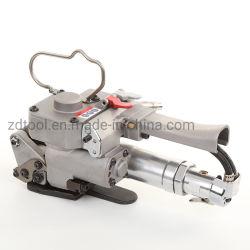 Signode Pallet Karton Pneumatische Umreifungsmaschine arbeitet mit Luftkompressor