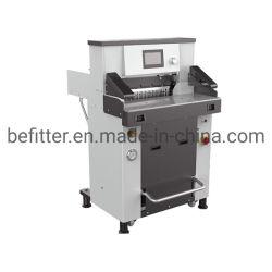 Atualização de alta qualidade do modelo 490mm guilhotina eléctrica hidráulica do cortador de papel