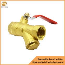 Фильтр шаровой клапан шаровой клапан для воды латунный фильтр шаровой клапан для системы водоснабжения